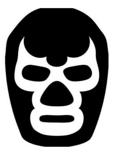 AAA Luchador Wresetler Mask Vinyl Decal for windows tablets laptops cups cars