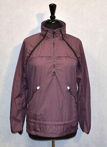 B0-Auth-LULULEMON-Purple-Lightweight-Foldable-Hood-Windbreaker-Jacket-Sz-8-118