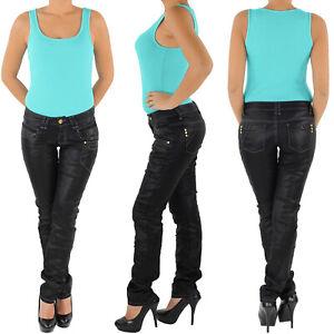 Damen-Hueft-Stretch-Jeans-Hose-Gerader-Schnitt-Straight-Leg-Gerades-Bein-8062