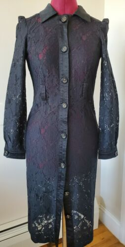 Dolce and Gabbana D&G Sexy Lace and Satin jacket s