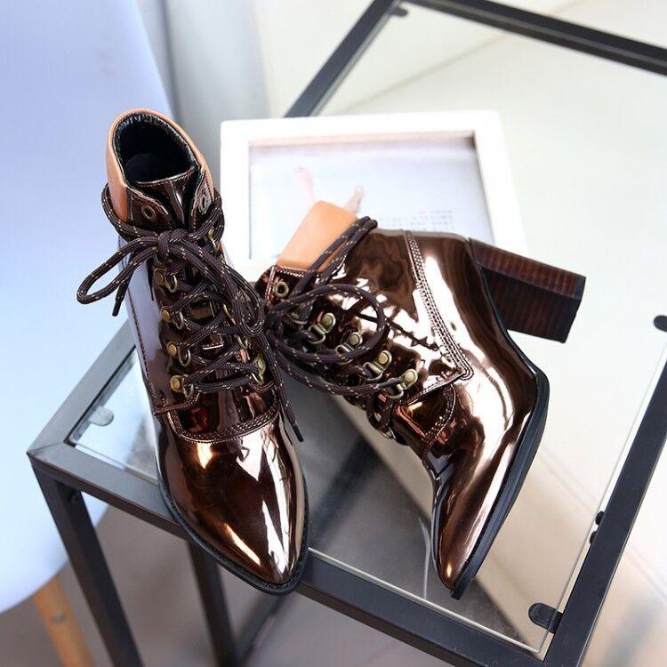 S51 woman ankle Stiefel schuhe high heel  toe inspiROT vintage designer inspiROT toe 543407