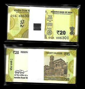 Rs-20-INDIA-Banknote-NEW-Issue-LATEST-PATTERN-2019-Latest-Issue-SERIAL-PACKET