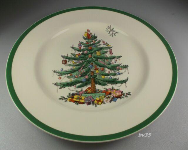 SPODE CHRISTMAS TREE DINNER PLATE 10 3/4