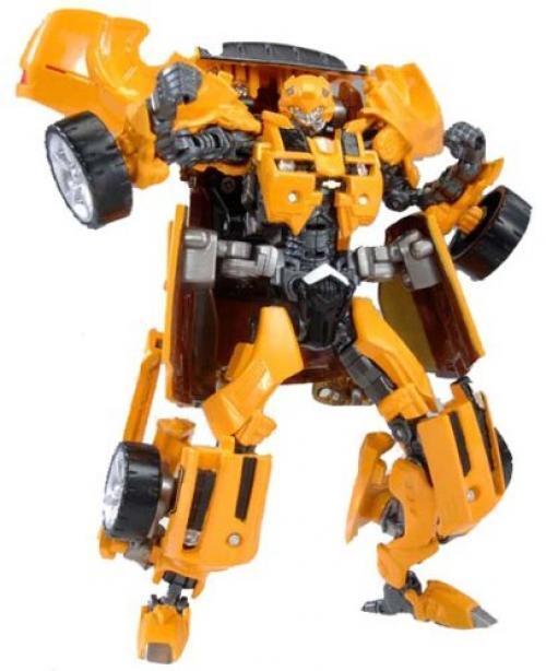 Nouveau Transformers Transparent Scannage Bumblebee Figurine Articulée   C1 F S