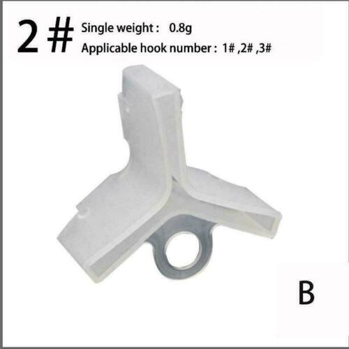 Fishing Hook Sleeves Plastic Treble Hook Protectors Covers For Fishing NEW G7I8