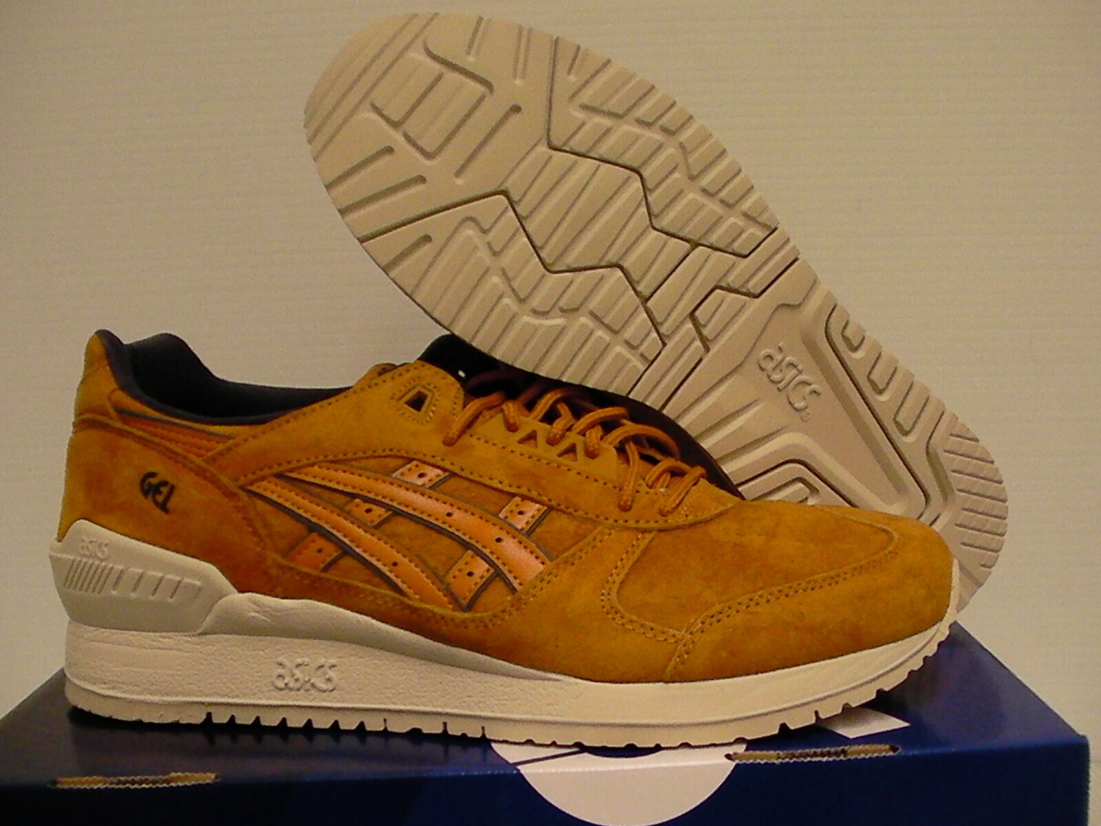Mens Asics running scarpe gel respector tan Dimensione Dimensione Dimensione 9.5 us men new with box 05fe9b