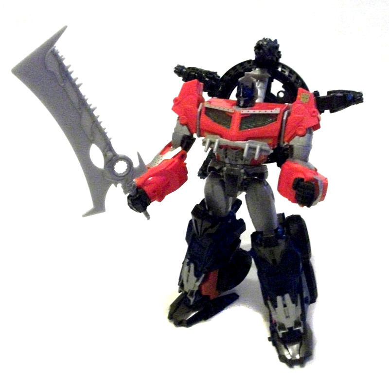 TRANSFORMERS Prime BEAST HUNTERS Leader Class 12  toy figure ( no missiles)