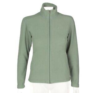 Patagonia-Synchilla-Pretty-Leaf-Green-Fleece-Full-Zip-Jacket-Women-039-s-XS-641