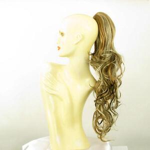 Postiche-queue-de-cheval-ondule-65cm-blond-cuivre-clair-et-chocolat-6-en-15613h4