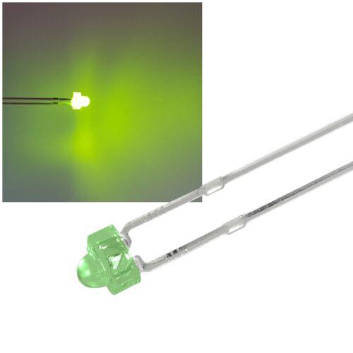 LED 1,8mm verde diffuso numero di pezzi selezionabile da 1//10//25//50 pezzi c4002
