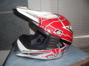 Thor 0132-1129 Sector Helmet Visor Kit Level Blue Green Offroad MX Visor
