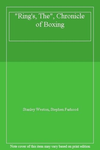 "1 of 1 - ""Ring's, The"", Chronicle of Boxing,Stanley Weston, Stephen Farhood"