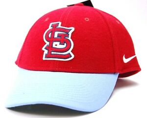 537c8ee771b49 Details about St. Louis Cardinals Nike L91 MLB Baseball Wool Two Tone  Adjustable Cap Hat