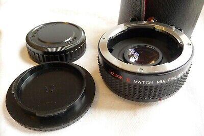 Lens Two Times 2x Converter Ozeck Ii Pentax Mount X25