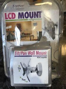 AXSYS LCD Wall Mount Vantage Point AXWL02-S Tilt & Pan - Brand New