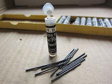 Tube of 12 H.B Refill Leads Fyne Poynt Pencils Mabie Todd Ltd LONDON Vintage