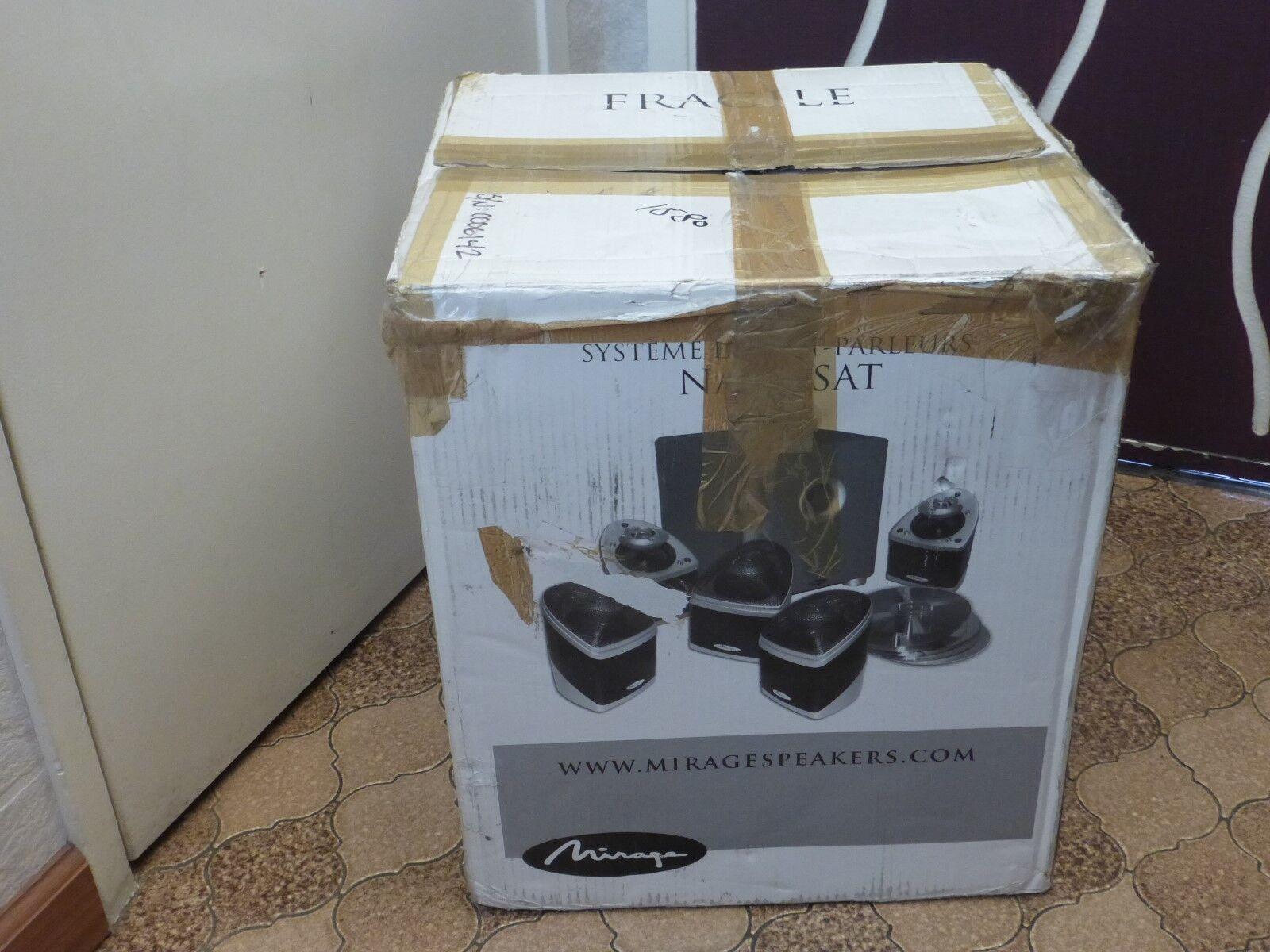 Mirage Nanosat 5.1 Surround Sound Speaker System Boxed