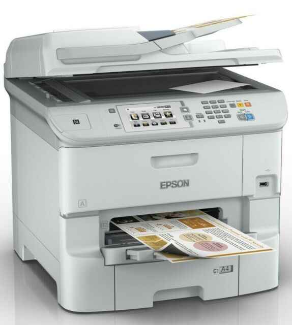 Impresora Multifuncional Epson WorkForce Pro WF-6590DWF 4800x1200 ppp