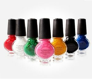 Image is loading Konad-Nail-Art-Special-Polish-All-43-Colours-