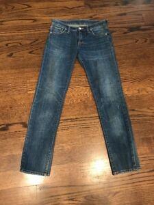 Jeans à 30 femmes Ralph haute 27 Denim droits taille And Lauren Supply Msrp178 pour UzSVpM