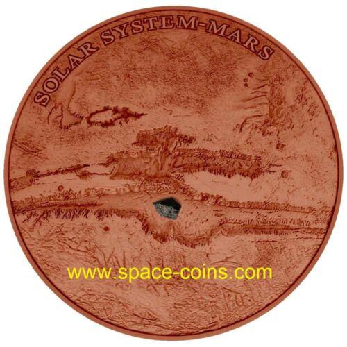 Solar System NWA 7397 Dome-shaped MARS Niue $1 2017