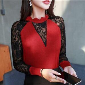 Blusas-Ropa-Moda-Para-Mujer-Tops-Elegantes-De-Camisa-Conversation-Blusa-Mujeres-Ropa