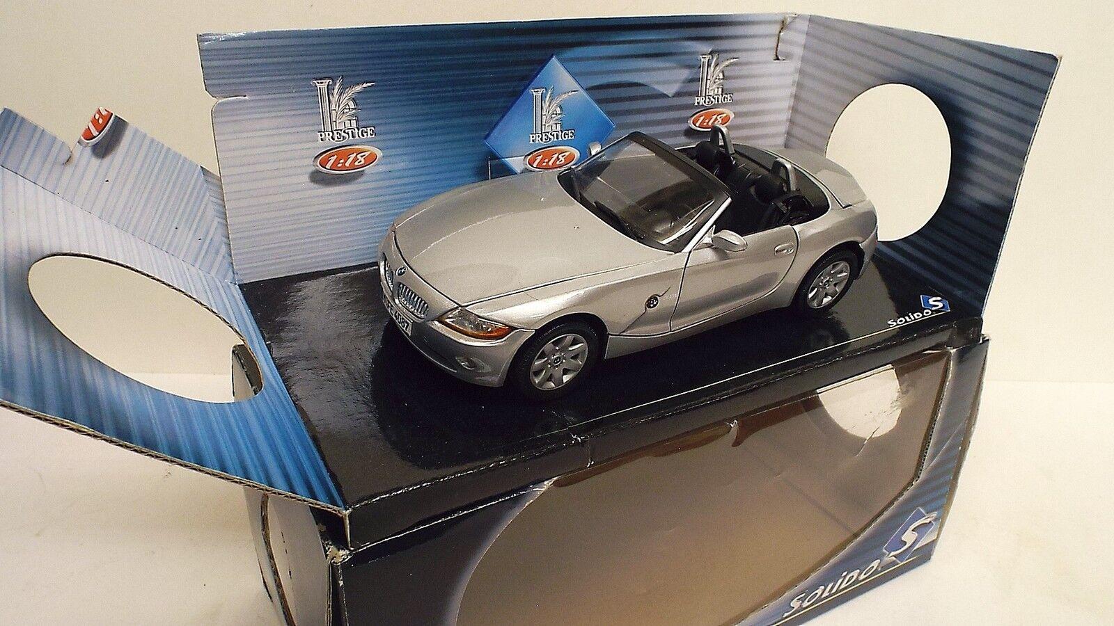 MIRA da solido BMW Z4 3.0i 1:18 Nuovo di zecca in scatola (1/18-65)