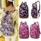HOT~ Women Girl Canvas School Shoulder Bag Cute Bookbag Backpack Travel Rucksack