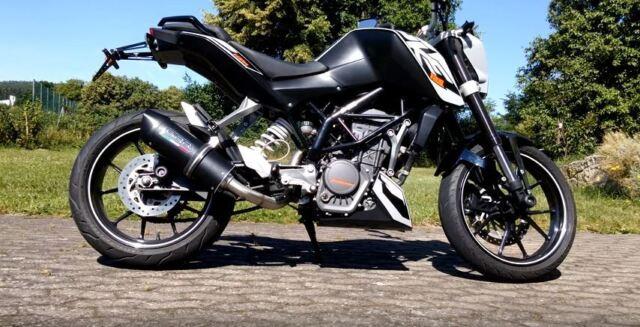 KTM 125 200 Duke Escape FURORE Nero By GPR Italia Hecho En. Se Ajusta hasta 2016