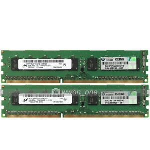 Micron-16GB-2x8GB-2Rx8-PC3-12800E-DDR3-1600MHz-240Pin-ECC-Unbuffered-Server-RAM