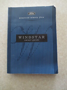 original 1995 ford windstar owner s manual ebay rh ebay com au 1995 ford windstar service manual 95 ford windstar owners manual