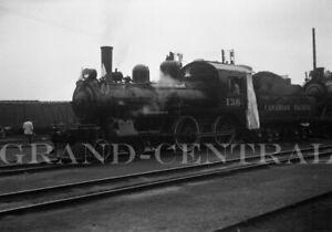 ORIGINAL 1960 CANADIAN PACIFIC RAILWAY CO CP NEGATIVE LOCOMOTIVE #136 CANADA RR