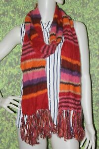 GUESS-Multicolor-Knit-Muffler-Scarf