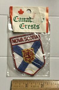 Details about NIP Nova Scotia Provincial Crest Flag Canadian Province  Canada Patch Badge
