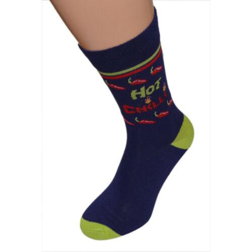 Piment fort design homme haute qualité socks X6S178