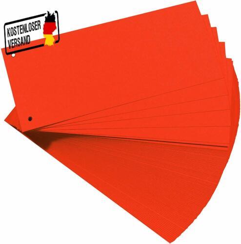 100-Er Packung Herlitz 10843647 Trennstreifen Oran
