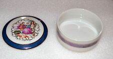VINTAGE Empress by HARUTA Victorian Style Porcelain Trinket Box