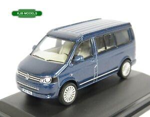 BNIB-OO-GAUGE-OXFORD-DIECAST-1-76-76T5C001-VW-T5-California-Camper-Van-Blue