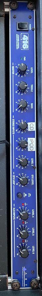 Mixer/Amp, QSC USA POWERAMP. ART MIXER QSC USA