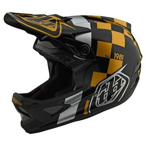 Troy-Lee-Designs-D3-Fiberlite-Helmet-Raceshop-Black-Gold-Large