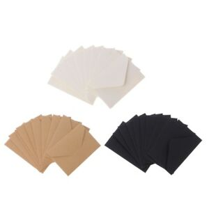 50pcs-Craft-Paper-Envelopes-Vintage-European-Style-Envelope-For-Card-Gift-NEW