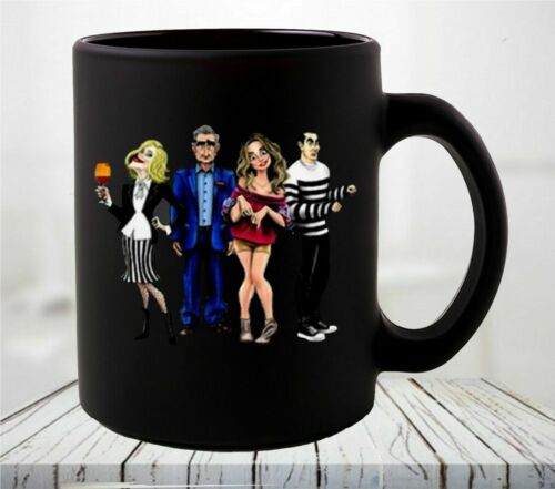 Nice Schitt's Creek Cartoons Characters Coffee Mug HOT NEW!!!
