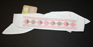 New-Crazy-8-By-Gymboree-Embroidered-Safari-Print-Headband-Hair-Accessory-NWT