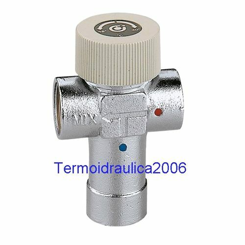 Caleffi 520640 Adjustable thermostatic mixing valve 1'' 40÷60°C