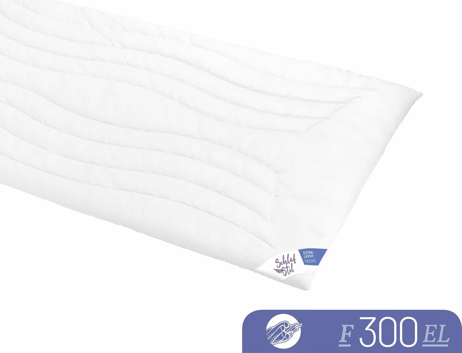 Schlafstil Leichtsteppbett F300 3D-Markenfaser