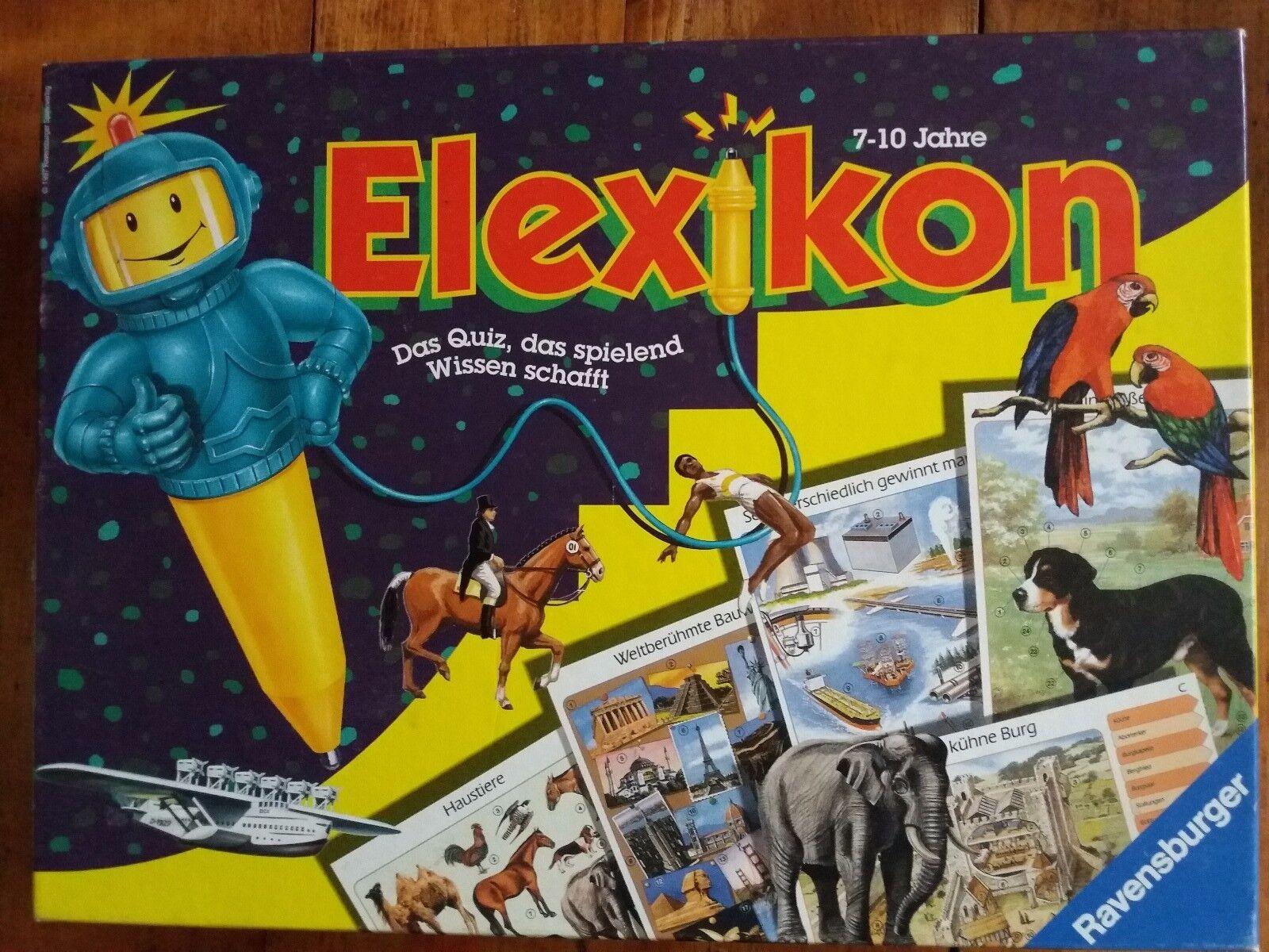 Elexikon - Quiz das spielend Wissen schafft (Ravensburger) Lernspiel 7-10 Jahre