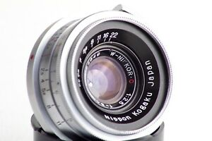 NIKON-RANGEFINDER-NIPPON-KOGAKU-W-NIKKOR-C-3-5cm-35mm-F2-5-for-Nikon-S2-S3-S4