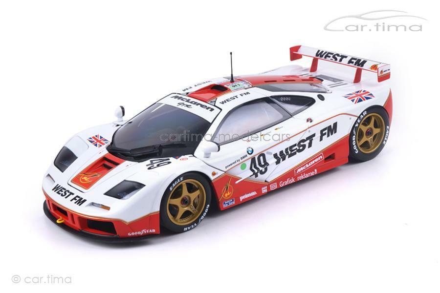 McLaren f1 GTR - 24 H LE MANS 1995-Nielsen Mass bscherr-MINICHAMPS - 1 18