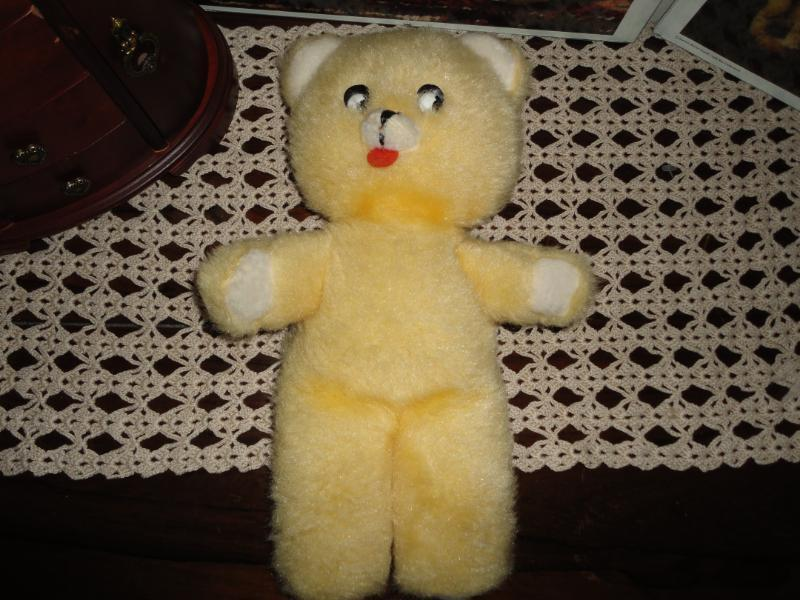 Antique Old gituttio Teddy orso With Tongue Very Rare