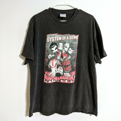 Vintage System of a Down Mushroom Cult Distressed